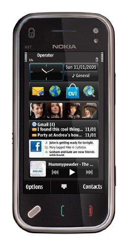 Nokia N97 mini 8 GB Unlocked Phone, Free GPS with Voice Navigation and Navigation/Car Kit--U.S. Version with Full U.S. Warranty (Black)