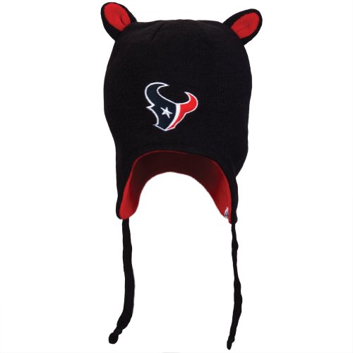Nfl Houston Texans Toddler Little Monster Knit Cap, Navy