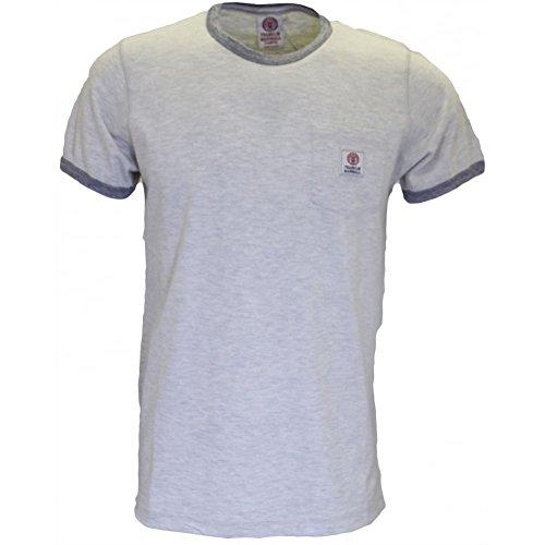 Franklin & Marshall -  T-shirt - Uomo Original Grey Melange Large