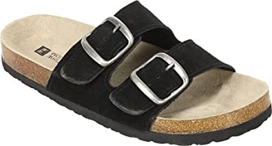 White Mountain 'Helga' Women's Sandal, Black - 6M