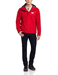 Helly Hansen Men\'s Seven J Jacket, Red, Small