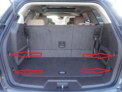 Envelope Trunk Cargo Net For GMC Acadia Buick Enclave Chevy Traverse 2010-2016, Model: , Car & Vehicle Accessories / Parts (2014 Buick Enclave Cargo Net compare prices)
