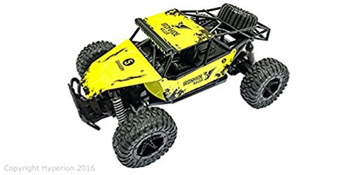 Pepperonz Ironhide Killer 1/16 Scale Four Wheel Drive Truck RTR 2.4GHz (Yellow)