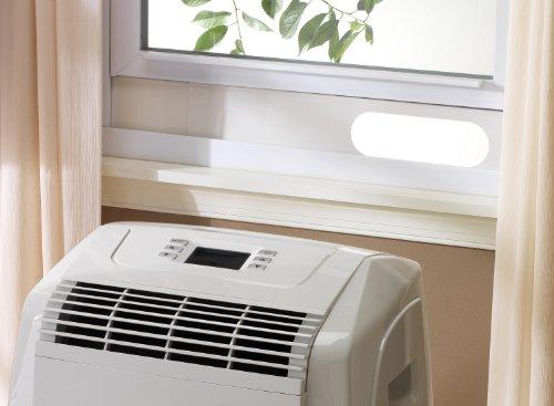 DeLonghi PAC-A130HPE 13,000 BTU Air to Air Portable AC with Heat Pump & R410A Refrigerant Gas