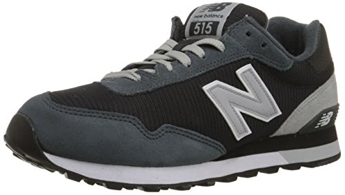 New Balance Men's ML515 Modern Classics Pack Classic Running Shoe, Dark Grey, 14 D US