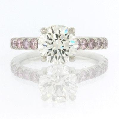 2.88ct Round Brilliant Cut Diamond Engagement Anniversary Ring