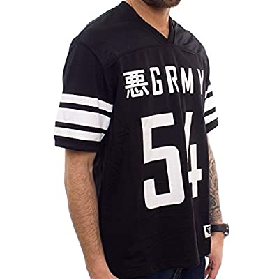 Grimey T-Shirt GRMY Football Jersey Blk