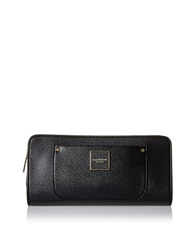 Isaac Mizrahi Women's Valerie Clutch, Black, One Size