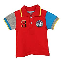 Lilliput Baby Boys T-Shirts (8907264055093_Red_18-24 Months)