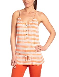O'Neill Aqua Stripe Débardeur femme Red AOP FR : 34 (Taille Fabricant : XS)