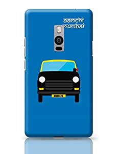 PosterGuy OnePlus Two Cover Aamchi Mumbai Quirky Taxi