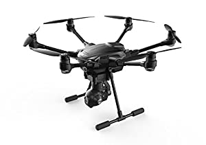 Yuneec Typhoon H Hexacopter Drone Starter Kit - 64GB SD Card, Extra Propellers, XY Find It Beacon, Battery & Charger, ST16 Ground Station, CGO3+ 4K UHD Camera w/ Lens Polishing Cloth