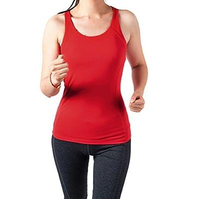 Sportown™ Women's Gym Yoga Fitness Workout Cross Back Tank Top