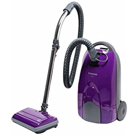 Panasonic MC-CG901 Canister Vacuum Cleaner, Orchid finish