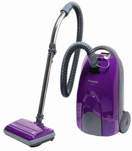 Panasonic MC-CG901 Canister Vacuum Cleaner, Orchid finish