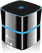 EC Technology® 5W BASS+ Enceinte Bluetooth 4.0 Portable avec Microphone Integré 10 Heures d'Autonomie Rechargable Haut-Parleur Sans Fil - Titane Gris