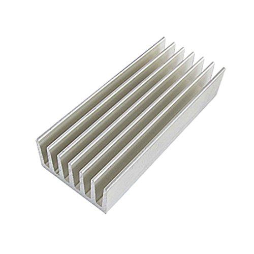uxcell 98 x 40 x 20mm Aluminium Heat Diffusion Cooling Fin