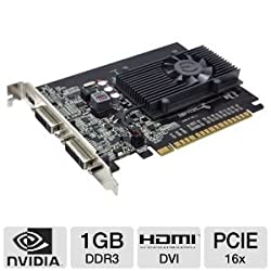 EVGA GeForce GT 520 1024 MB DDR3 PCI Express 2.0 2DVI/Mini-HDMI Graphics Card, 01G-P3-1526-KR