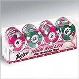 Casino Milk Chocolate Poker Chips Four Row Gift Box