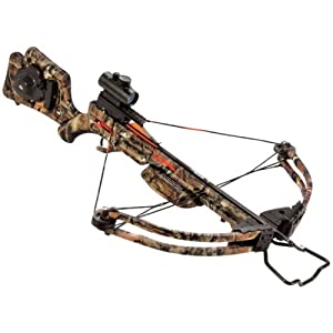 Wicked Ridge Invader HP Standard Crossbow Package, 180-Pound by Wicked Ridge