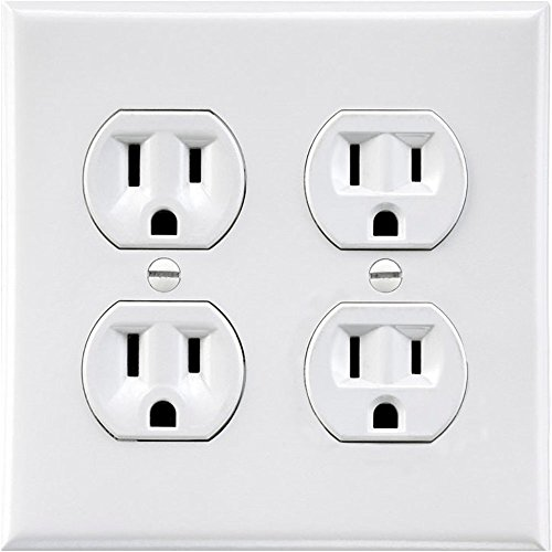 Electrical Sticker | Fake Wall Outlet Sticker | Electrical Plug Sticker