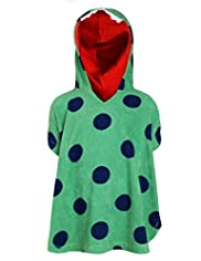 Cotton Rich Dino Spotted Towelling Poncho Top