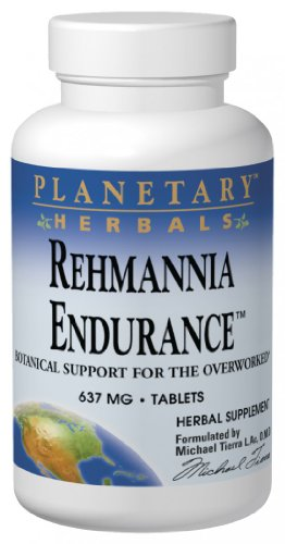 Planetary Herbals, Rehmannia Endurance, 637 mg, 150 Tablets
