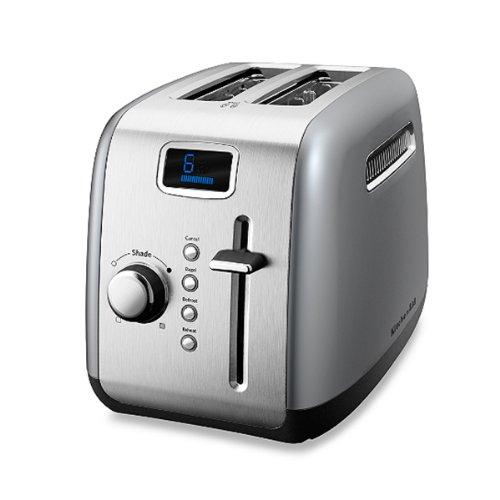 Kitchenaid® Silver 2-Slice Digital Toaster