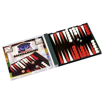 Excalibur Magnetic Travel Compact Design CD Backgammon