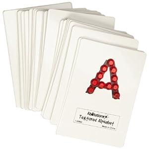 Amazon Com Abilitations Integrations Textured Alphabet