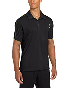 Adidas Golf Mens Climalite 3-Stripe Contrast Stitch Jersey Polo by adidas