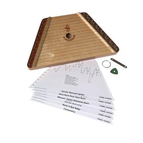 [해외]크리스마스 1 권 & A와 멜로디 하프; /Melody Harp with Christmas Book 1 & Red Christmas Recorder & Christmas Book