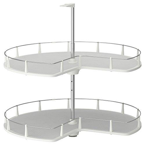 IKEA イケア UTRUSTA コーナーベースキャビネット用回転式シェルフ 802.920.09,80292009