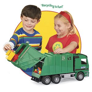 Recycling and Garbage Truck