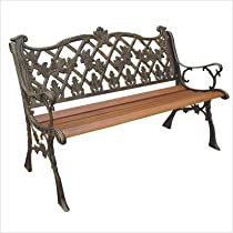 Sicilian Cast Back Bench