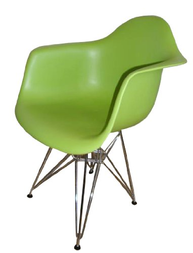 Charles Eames Eiffel Inspired Green DAR Side Dining Chair
