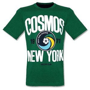 NY Cosmos Graphic T-Shirt (Dark Green)