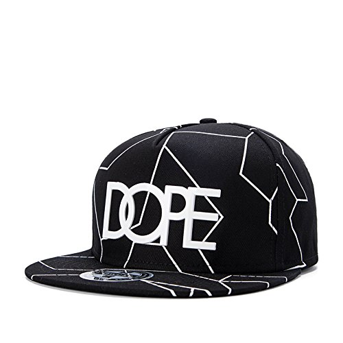 You Love Black Cool Adjustable Snapback Hip-hop Baseball DOPE Cap Hat Unisex (Cool Snapbacks compare prices)