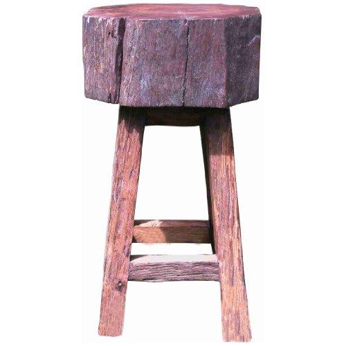 Groovystuff Stump Seat Kitchen Chair in Honey