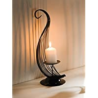 European Mocha Brown Tail Candle Holder Product SKU: CL229280