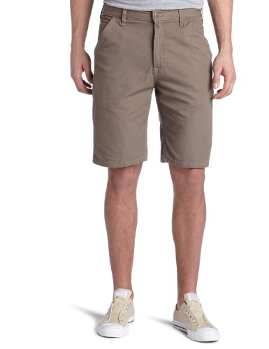 Carhartt Men's Canvas Utility Work Short,Musk  (Closeout),32 Closeout Casual Shorts