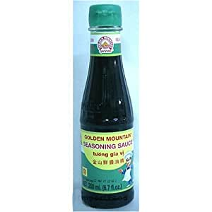 Golden Mountain Thai Seasoning Sauce - 6.7 oz x 3 bottles