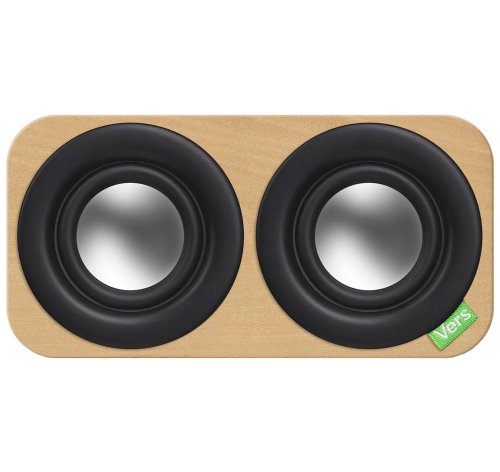 Vers Audio Q209 2Q Bluetooth Sound System (Natural Beech)