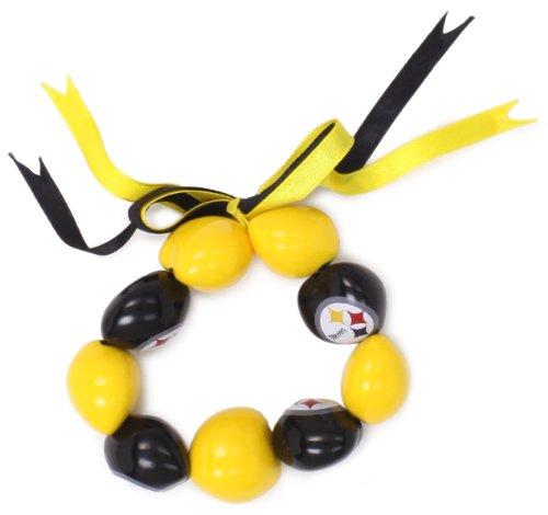 NFL Pittsburgh Steelers Go Nuts Kukui Nut Bracelet at Steeler Mania
