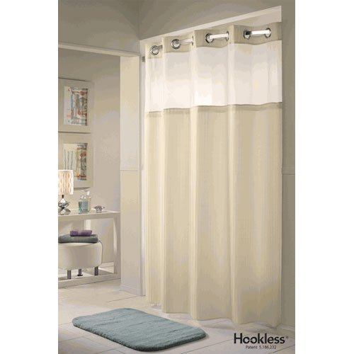 Extra Long Hookless Shower Curtain Extra Long Hotel Shower Curtains