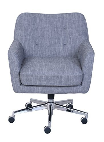 "Serta ""Ashland"" Winter River Gray Home Office Chair 2"