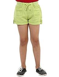 Oxolloxo Girls green shorts