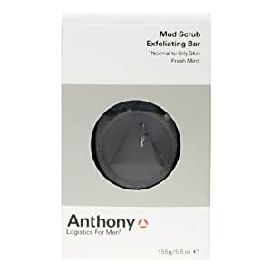 Anthony Logistics For Men Exfoliating Mud Scrub Bar
