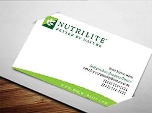 Amazon Nutrilite Business Card Design 2 fice
