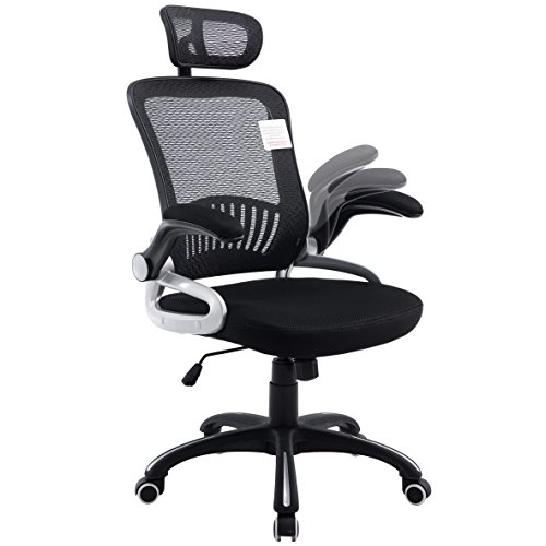 mesh-high-back-extra-padded-swivel-office-chair-with-head-support-adjustable-arms-black